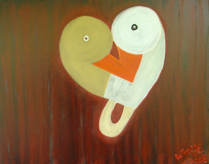 LOVEU painting